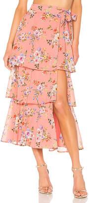House Of Harlow X REVOLVE Sabine Wrap Skirt