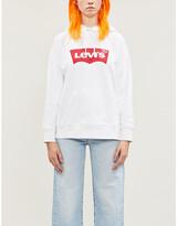 Levi's Logo-print cotton-jersey hoody