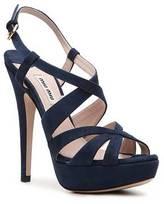 Miu Miu Suede Platform Sandal