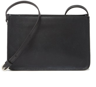 Most Wanted Design by Carlos Souza The Classic Carryall Leather Crossbody Bag