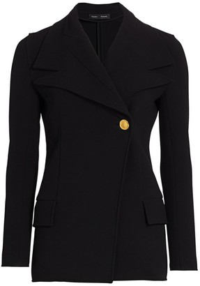 Proenza Schouler Stretch Wool Suiting Blazer