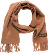 Loro Piana Cashmere Fringe-Trimmed Scarf
