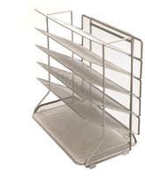 Seville Classics 6-Tray Vertical Desktop/Wall Mount Organizer