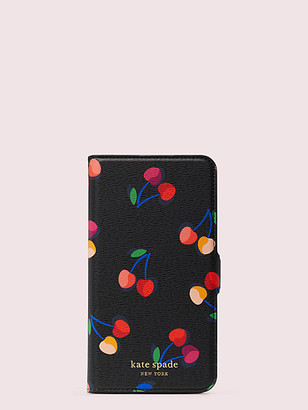 Kate Spade Spencer Cherries Iphone 11 Pro Max Magnetic Wrap Folio Case