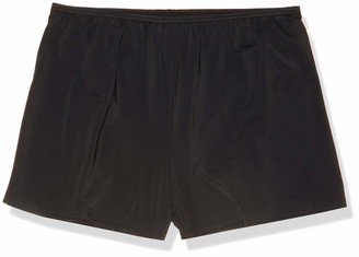 Fit 4 U Women's Solid Fitted Swim Short