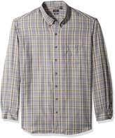Arrow Men's Big-tall Big and Tall Long Sleeve Heritage Twill Shirt