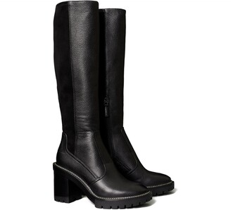 Tory Burch Miller Lug Sole Knee Boot