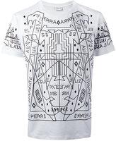 Marcelo Burlon County of Milan Salmoman T-shirt - men - Cotton - S