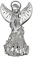 Waterford Crystal Lismore Angel of Prayer Figurine