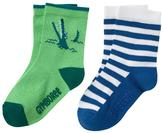 Gymboree Gator & Stripe Socks