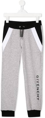 Givenchy Kids Drawstring Track Trousers