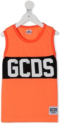Gcds Kids Band Logo Vest Top