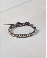 Express chan luu mixed crystal single wrap bracelet