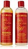 Crème of Nature Argan Oil Moisture Shine Shampoo & Intensive Treatment Set, 12 oz