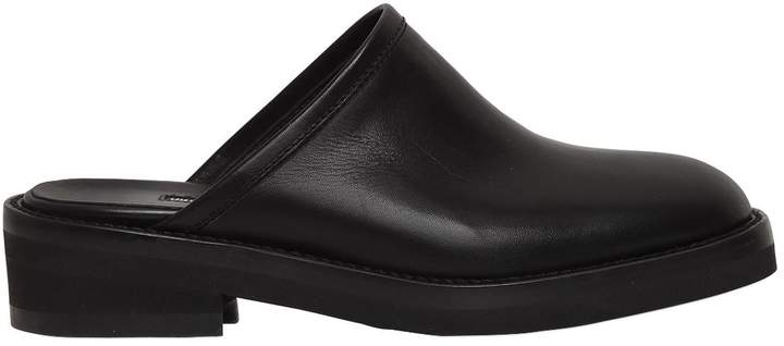Ann Demeulemeester 40mm Leather Mules
