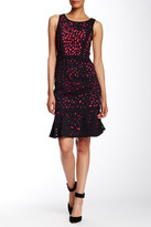 NUE by Shani Laser Cut Sleeveless Dress