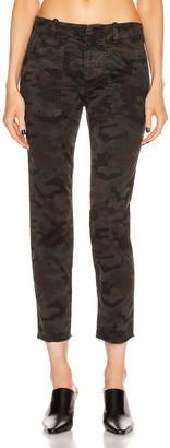 Nili Lotan Jenna Pant in Charcoal Camo Print | FWRD