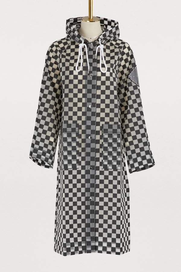 Proenza Schouler Checks raincoat