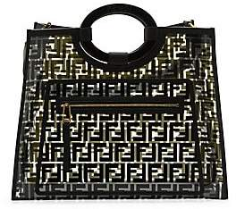 Fendi Women's Medium Runaway PVC Shopper