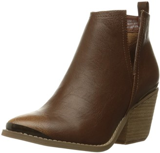 Not Rated Women's 4 My Peeps Boot Tan 6 M US