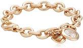 Bronzallure WSBZ00197R Women's Bracelet Bronze Quartz White WSBZ0002 white