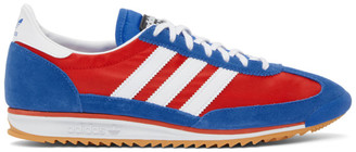 adidas LOTTA VOLKOVA Red and Blue SL72 Low-Top Sneakers