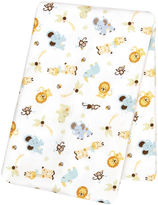 TREND LAB, LLC Trend Lab Jungle Friends Deluxe Swaddle Blanket