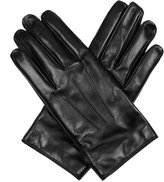 Lanvin Leather gloves with popper close