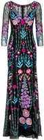 Temperley London Woodland V-Neck Dress