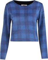 MM6 MAISON MARGIELA Checked brushed-felt sweater