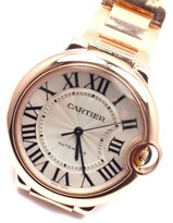 Cartier Ballon Bleu 3003 18K Rose Gold Automatic 36mm Unisex Watch