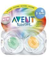 Philips Translucent Infant Pacifiers 3-6m (colors may vary)