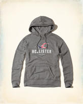 Hollister New York Logo Graphic Hoodie