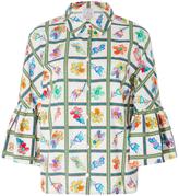 Stella Jean Giornalista Cotton Printed Kimono