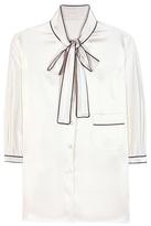 Dolce & Gabbana Furag Silk Blouse