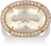 Irene Neuwirth Women's Diamond & Water Opal Ring
