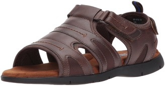Nunn Bush Men's Rio Grande Open Toe Fisherman Sandal