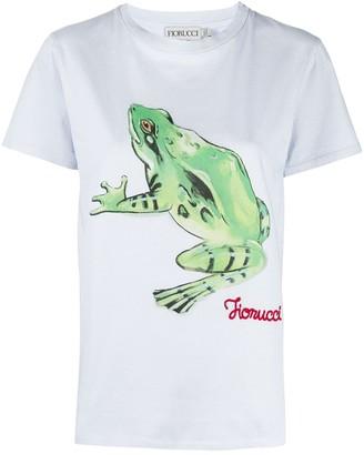 Fiorucci Woodland Frog-print T-shirt