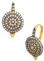 Freida Rothman 'Etoile' Pavé Disc Drop Earrings