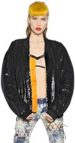 Ashish Sequined Padded Bomber Jacket