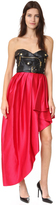 Moschino Strapless Dress