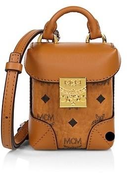 MCM Mini Soft Berlin Visetos Crossbody Box Bag