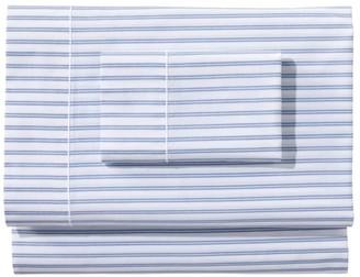 L.L. Bean Premium Egyptian Percale Sheet Collection, Stripe