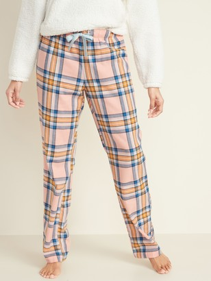 Old Navy Patterned Flannel Pajama Pants for Women