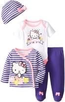 Hello Kitty Baby Baby-Girls Newborn 4 Piece Gift Set