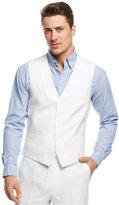 INC International Concepts Men's Smith Linen-Blend Vest