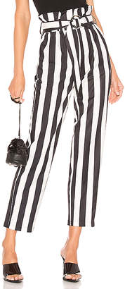 superdown Pippa Belted Striped Pants