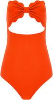 Marysia Swim Poppy Red Halter-Neck Swimsuit