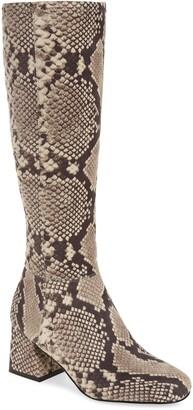 Steve Madden Dexie Block Heel Tall Boot