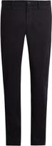 Ermenegildo Zegna Straight-leg cotton chino trousers